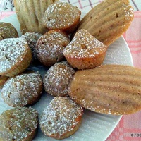 Almond Coffee Spice MADELEINE