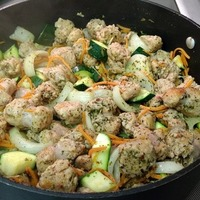 Las Vegas Recipe Guru Summerlin Sauteed Chicken, Zucchini, Onions, and Carrots