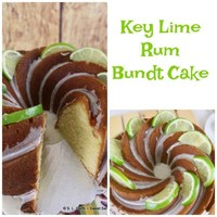 Key Lime Rum Bundt Cake