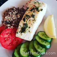 Easy Baked Halibut