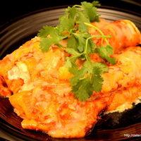 Smoky Turkey & Cheese Enchiladas