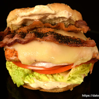 Citrus Pepper Chicken Bacon Cheeseburgers