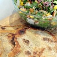 Recipe For Fattoush Salad Using Msemen