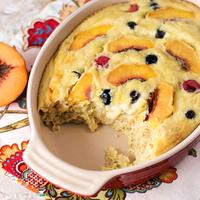 Yellow Cake Baked Oatmeal