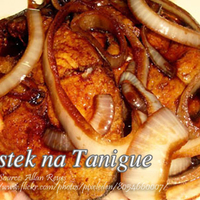 Bistek na Tanigue (Spanish Mackerel in Soy Sauce)