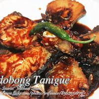 Adobong Tanigue (Spanish Mackerel Adobo)