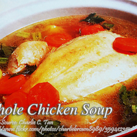 Whole Chicken Soup