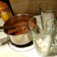 Mocha Maple Coconut milk hot beverage