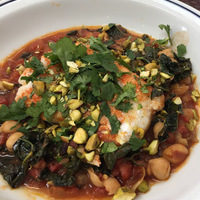 A One Skillet Dish With Indian Spices: Cod and Chickpea Curry