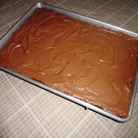 Saucepan Chocolate Sheet Cake
