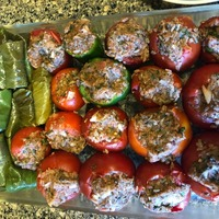 Stuffed Vegetable, tomatoes, bell peppers etc