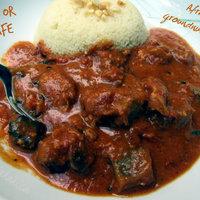Mafé or maafe – African groundnut stew