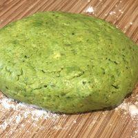 Green Pizza Crust