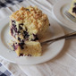 Blueberry Muffin Cake with Coconut Streusel