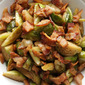 Sautéed Brussels Sprouts with Bacon