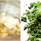 {Amma's Recipes} - Andhra Style Kanda Bachali Koora | Suran (Elephant Foot Yam) and Malabar Spinach Curry Recipe
