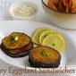 Crispy Eggplant Sandwich