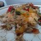 Egg Bake with Tomato Olive Relish