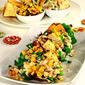 Papad Tacos with Corn Salsa