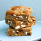 Browned Butter Pretzel & Butterscotch Chips Blondies