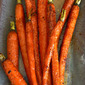 Roasted Carrots with Honey & Lemon