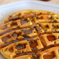 Buttermilk Waffles with Sausage