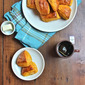 Sweet Potato Biscuit Pillows With Honey and Coconut Oil