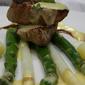 Veal on Asparagus