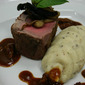 Beef fillet with Truffle Potatoes