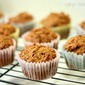 Whole Wheat Vegan Carrot Muffins