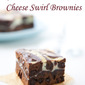 Red Wine Cream Cheese Swirl Brownies