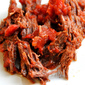 Oven Braised Beef with Tomato Sauce & Garlic