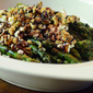 Roasted Asparagus with Balsamic, Goat Cheese and Toasted Walnuts