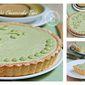 Matcha Cheesecake Tart