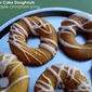 Pumpkin Cake Doughnuts with Maple Cinnamon Icing
