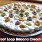 Froot Loop Banana Cream Pie