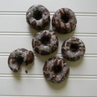 Mini Chocolate Glazed Donut