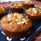 Healthy Cranberry-Oat Muffins