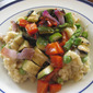 Grilled Vegetable Risotto (Gluten-Free and Vegan)