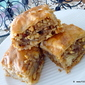 Nuts for BAKLAVA phyllo pastry .