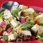 Mediterranean Lemon Chicken Orzo Salad