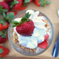Strawberries and Cream Crunch Parfaits