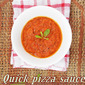 Quick Pizza Sauce With Fresh Tomatoes...step by step.