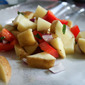 Potato and Pepper Foil Packets