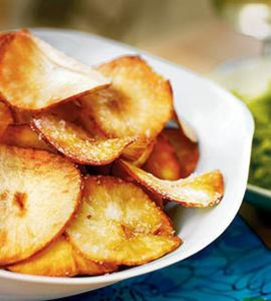 Fried Garlic Chips