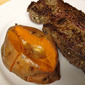 Steakhouse Sweet Potato with Cinnamon and Brown Sugar Butter