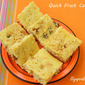 Quick Fruit Cake (Microwave method)