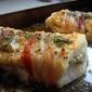 Roasted Cod with Pancetta and Artichoke Pesto