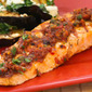 Grilled Salmon Recipe with Sun-Dried Tomato, Olive, Caper, and Parsley Relish