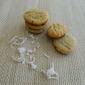 Gluten Free Vegan Mini Coconut Almond Cookies